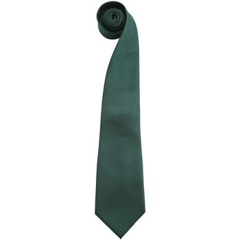textil Hombre Corbatas y accesorios Premier PR765 Verde botella