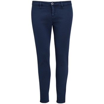 textil Mujer Pantalones chinos Sols 01425 Azul marino