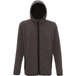 textil Hombre Polaire Tridri TR071 Carbón/Mota Negra