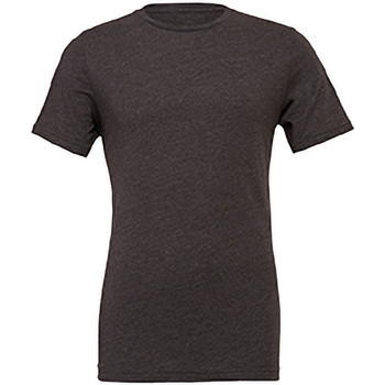 textil Hombre Camisetas manga corta Bella + Canvas CA3001 Jaspeado Oscuro