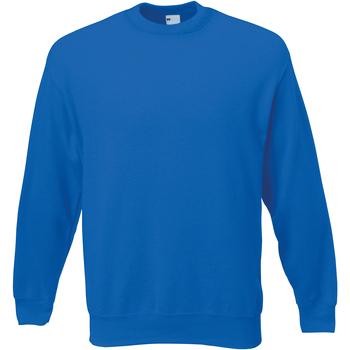 textil Hombre Sudaderas Universal Textiles 62202 Azul cobalto