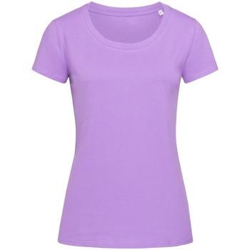 textil Mujer Camisetas manga corta Stedman Stars  Púrpura Lavanda