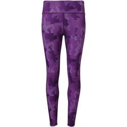 textil Mujer Leggings Tridri TR032 Púrpura Camuflaje