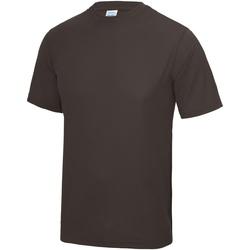 textil Hombre Camisetas manga corta Awdis JC001 Chocolate