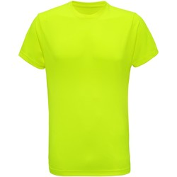 textil Hombre Camisetas manga corta Tridri TR010 Amarillo Rayo