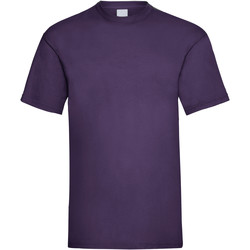 textil Hombre Camisetas manga corta Universal Textiles 61036 Uva