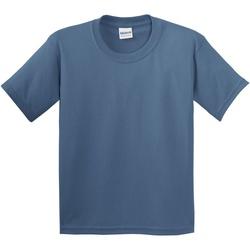 textil Niños Camisetas manga corta Gildan 5000B Azul Indigo