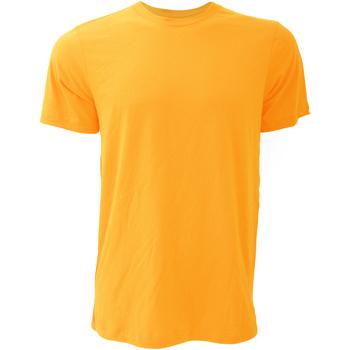 textil Hombre Camisetas manga corta Bella + Canvas CA3001 Amarillo