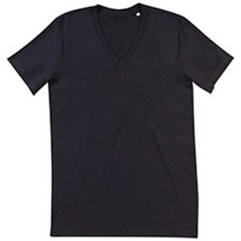 textil Hombre Camisetas manga corta Stedman Stars  Negro ópalo