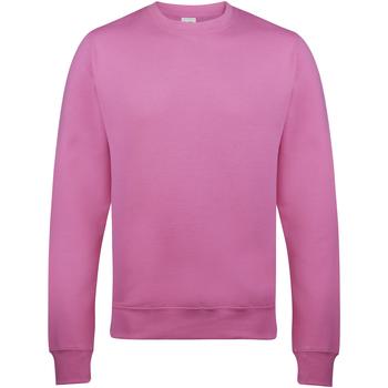 textil Hombre Sudaderas Awdis JH030 Rosa Candyfloss