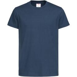 textil Niños Camisetas manga corta Stedman  Azul marino