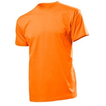 textil Hombre Camisetas manga corta Stedman  Naranja