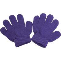 Accesorios textil Niño Guantes Universal Textiles  Púrpura