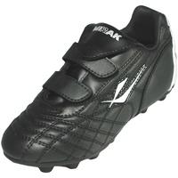 Zapatos Niño Fútbol Mirak Forward Velcro Moulded Negro/Plateado