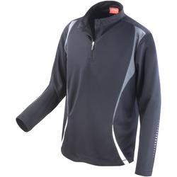 textil Mujer Chaquetas de deporte Spiro S178X Negro/gris/blanco