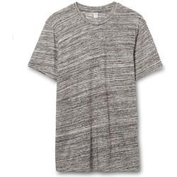 textil Hombre Camisetas manga corta Alternative Apparel AT001 Gris Urbano