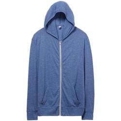 textil Hombre Sudaderas Alternative Apparel AT002 Azul Pacífico