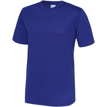 textil Hombre Camisetas manga corta Awdis JC001 Azul Reflex