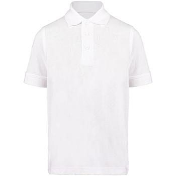 textil Niño Polos manga corta Kustom Kit KK406 Blanco