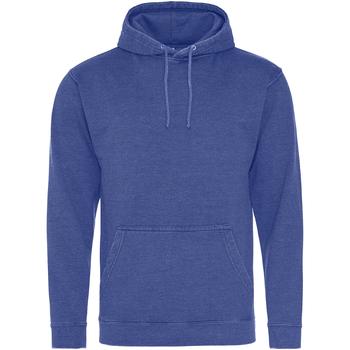 textil Sudaderas Awdis Washed Azul Zafiro Lavado