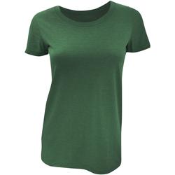 textil Mujer Camisetas manga corta Bella + Canvas BE8413 Esmeralda  Jaspeado