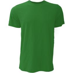 textil Hombre Camisetas manga corta Bella + Canvas CA3001 Verde Bosque