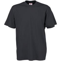textil Hombre Camisetas manga corta Tee Jays TJ8000 Gris Oscuro