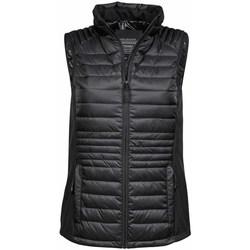 textil Hombre Plumas Tee Jays TJ9625 Blanco/Negro