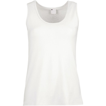 textil Mujer Camisetas sin mangas Universal Textiles Fitted Nieve