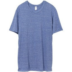 textil Hombre Camisetas manga corta Alternative Apparel AT001 Azul Eco Pacífico