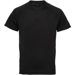 textil Hombre Camisetas manga corta Tridri TR011 Negro