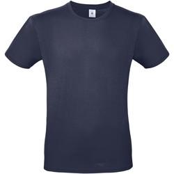 textil Hombre Camisetas manga corta B And C TU01T Azul Marino Urban
