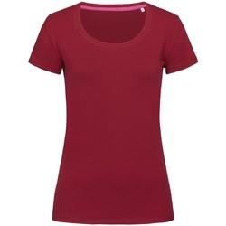 textil Mujer Camisetas manga corta Stedman Stars  Burdeos