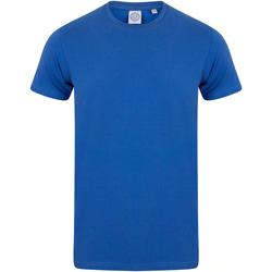 textil Niños Camisetas manga corta Skinni Fit SM121 Azul Real