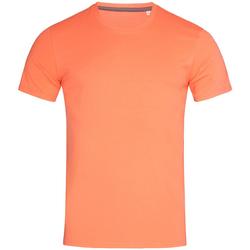 textil Hombre Camisetas manga corta Stedman Stars  Rosa salmón