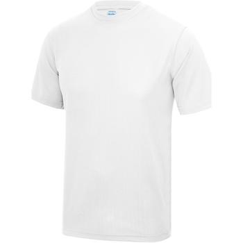 textil Hombre Camisetas manga corta Awdis JC001 Blanco Polar