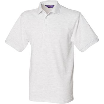 textil Hombre Polos manga corta Henbury HB400 Ceniza