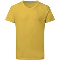 textil Hombre Camisetas manga corta Sg Perfect Amarillo oscuro