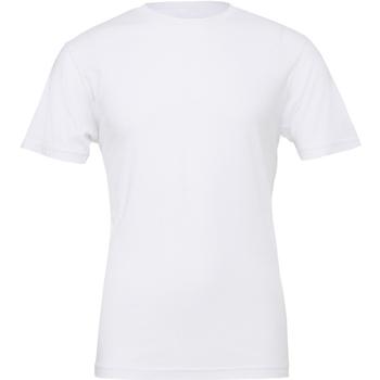 textil Hombre Camisetas manga corta Bella + Canvas CA3001 Blanco