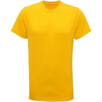 textil Hombre Camisetas manga corta Tridri TR010 Amarillo Sol