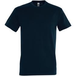 textil Hombre Camisetas manga corta Sols 11500 Azul Petróleo