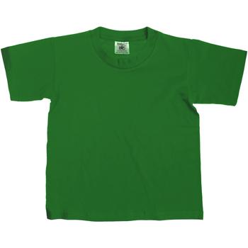 textil Niños Camisetas manga corta B And C Exact Verde botella