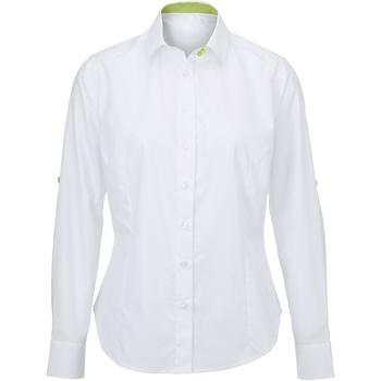 textil Mujer Camisas Alexandra AX060 Blanco/Lima