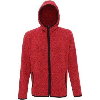 textil Hombre Polaire Tridri TR071 Rojo/Mota Negra