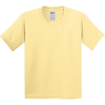 textil Niños Camisetas manga corta Gildan 5000B Amarillo pálido