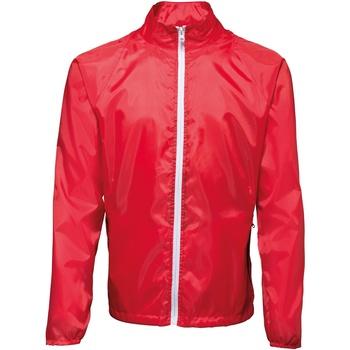textil Hombre Cortaviento 2786 TS011 Rojo / Blanco