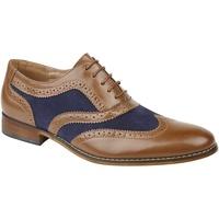 Zapatos Niño Richelieu Roamers  Tostado/Marino