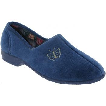 Zapatos Mujer Pantuflas Mirak Bouquet Arándano azul