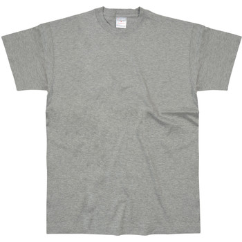 textil Hombre Camisetas manga corta Stedman  Gris Jaspeado