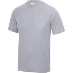textil Hombre Camisetas manga corta Awdis JC001 Gris Jaspeado